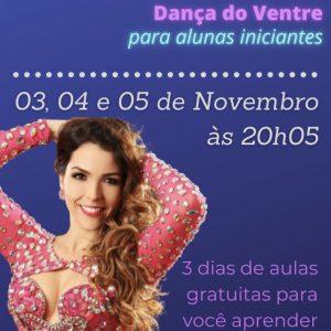 Workshop de Dança do ventre Gratuito